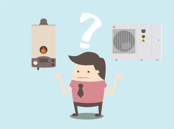cambiar caldera de gas o gasoleo por aerotermia
